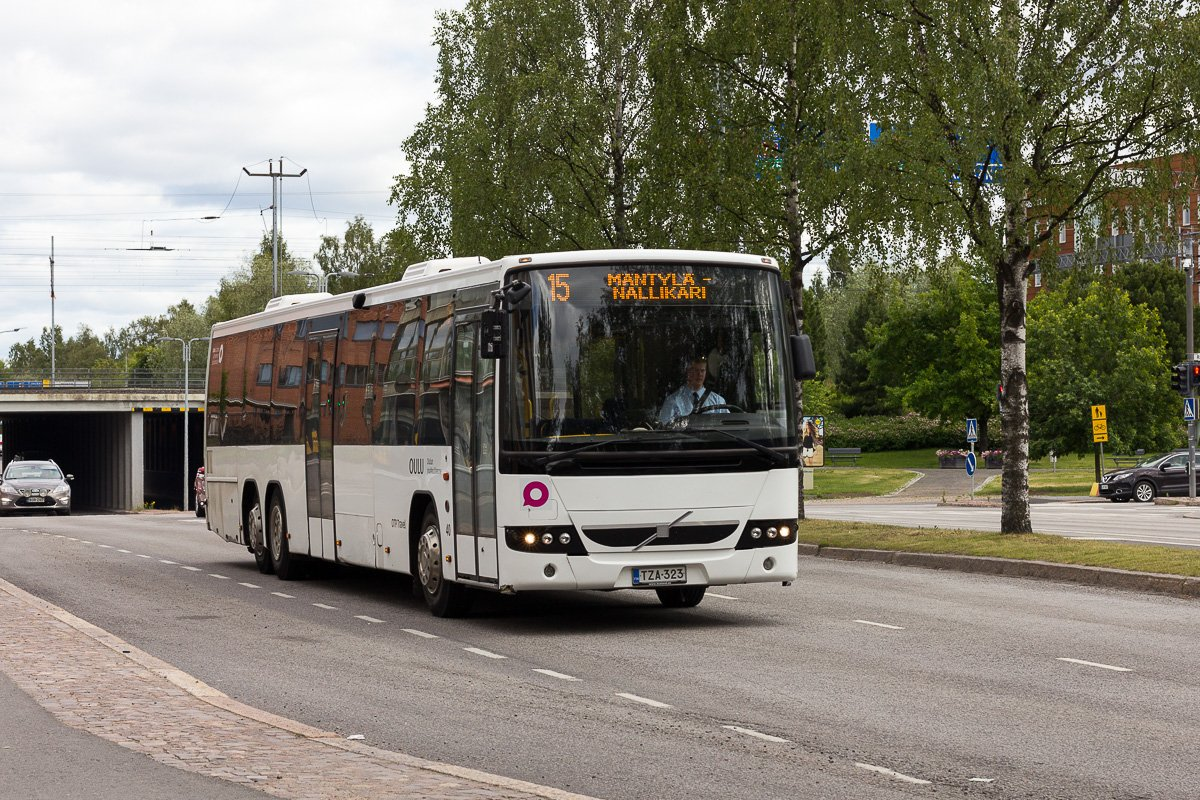 Oulun Taksipalvelut TZA-323